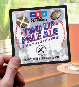 The concept design for Two Up Pale as pitched to us by Stevie and the team at Albatross.